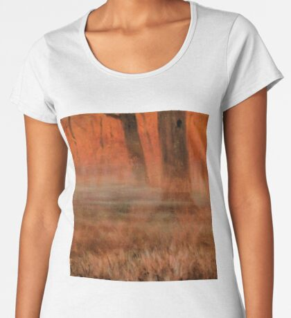 EARLY MORNIN' IN GEORGIA, Acrylic Painting, for prints and products Women's Premium T-Shirt