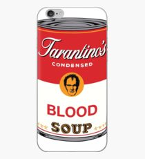 Tarantino's Blood Soup iPhone Case