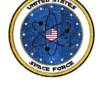 Space Force Trump  - USSF US Space Force by MapleWarrior