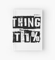 Something about 1% Hardcover Journal