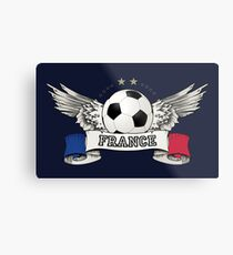 World Cup Champion 2018 France Fan Gear Metal Print
