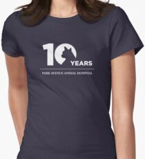 Park Avenue 10 Years (Cat) Women's Fitted T-Shirt
