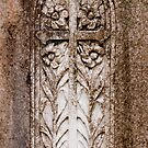 Cross with Calla Lillies by Bernadette Watts