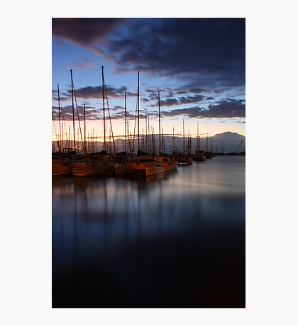 manly harbour Photographic Print