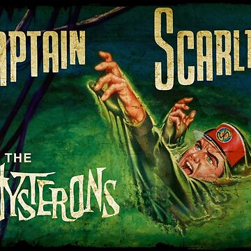 Captain Scarlet and the Mysterons by midcenturydave