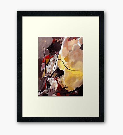 Held Framed Print