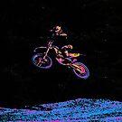 AIR TIME - Motocross Sports Art by Skye Ryan-Evans