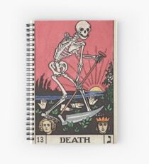 Death Tarot Spiral Notebook