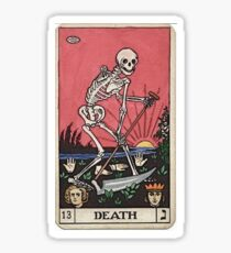Death Tarot Sticker