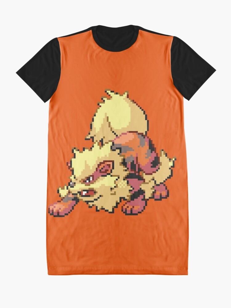 Vista alternativa de Vestido camiseta Arcanine