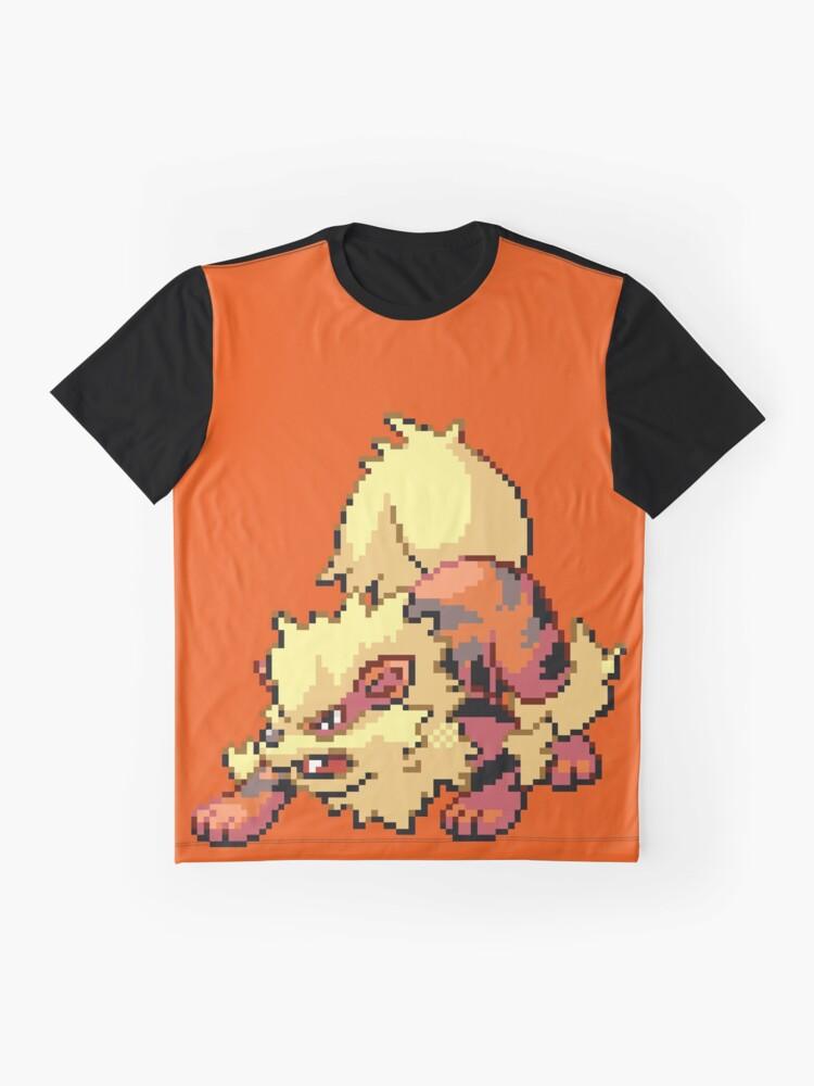 Vista alternativa de Camiseta gráfica Arcanine
