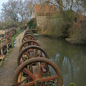Stour Valley Way: Fiddleford Mill by RedHillDigital