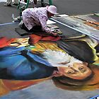 Street Chalk Artists II – San Rafael, Marine County, CA by Rebel Kreklow