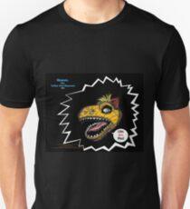"What's Inside Your Gut, Shmut?: A Tragic First Tale of the World's Last Dumbosaurus!-""Like Grr, Man!"" (premier promo print) Unisex T-Shirt"