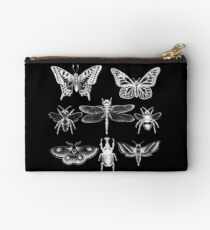 White Insect Series Studio Pouch