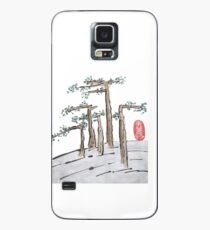 Flat Trees Landscape Case/Skin for Samsung Galaxy