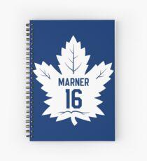 Mitch Marner Maple Leafs Logo Spiral Notebook
