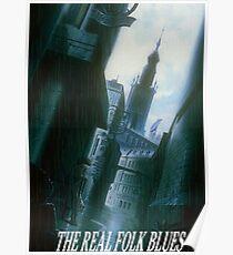 Cowboy Bebop Der echte Folk Blues Poster