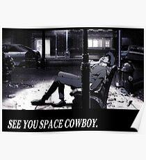 Cowboy Bebop sehen Sie Platz Cowboy Poster