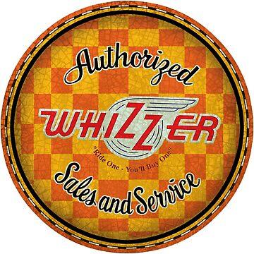 Whizzer Vintage Motorbikes USA by midcenturydave