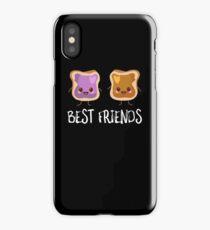Peanut Butter and Jam Best Friends iPhone Case