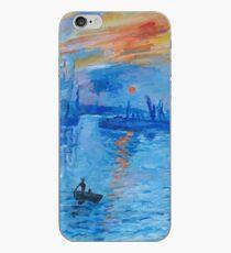Impression, Sunrise Monet painting Soleil Levan iPhone Case