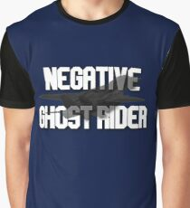 Negative Ghost Rider Graphic T-Shirt