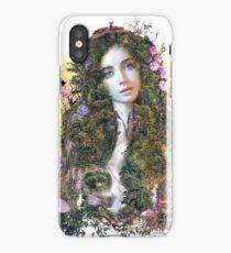 Mother Earth surreal original art iPhone Case