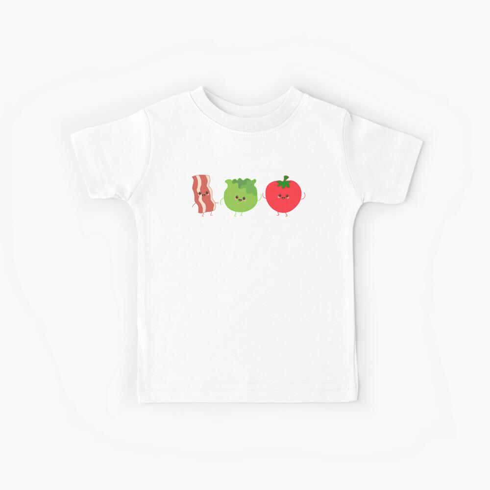 BLT Bacon Salat und Tomaten Nichts macht Sinn, wenn wir auseinander sind Kinder T-Shirt