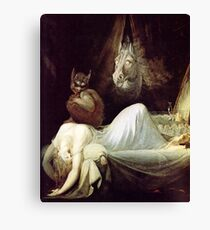 HD The Nightmare, by John Henry Fuseli HIGH DEFINITION Canvas Print