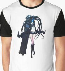 Black Rock Shooter Graphic T-Shirt