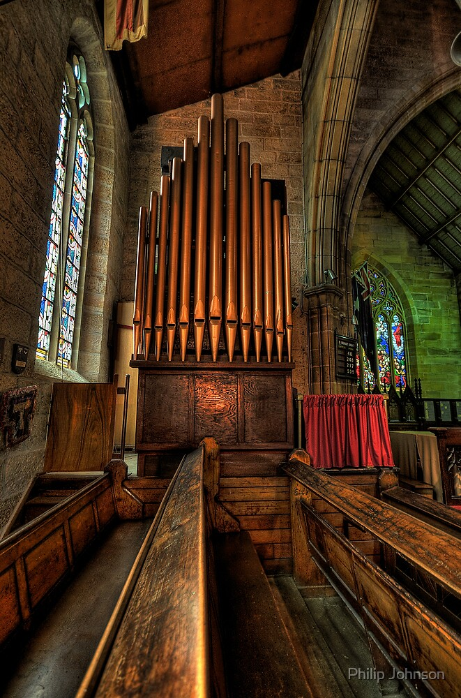 Many a Hymn - The Garrison Church c.1843, The Rocks Sydney- The HDR Experience by Philip Johnson
