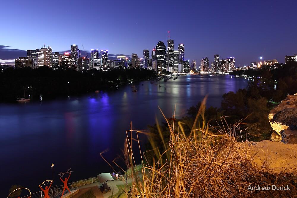 Brisbane at Dusk by Andrew Durick