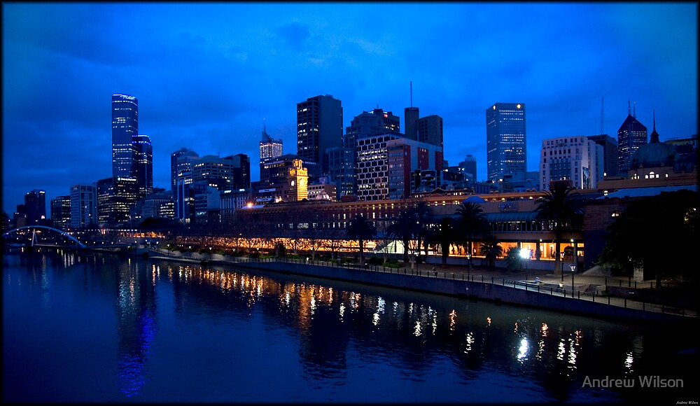 Melbourne 6.45 am by Andrew Wilson