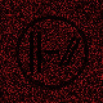 Red Twenty One Pilots Pixel Logo (new) by joshyboy1357