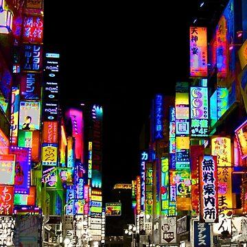 Tokyo Nights by Plateman