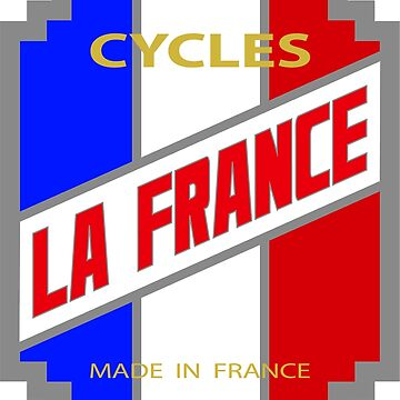 La France Cycles DISTRESSED by JackCinq
