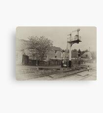 Station Masters House-Levisham,North Yorkshire  Canvas Print
