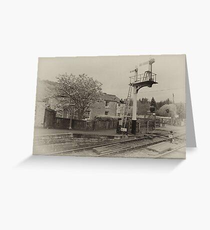Station Masters House-Levisham,North Yorkshire  Greeting Card