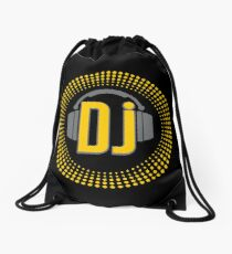 DJ Drawstring Bag