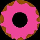 Pink Frosting Donut by ArtistShore