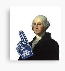 George loves George Washington University Canvas Print