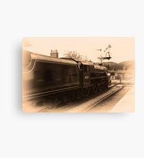 Train # 45212 Canvas Print