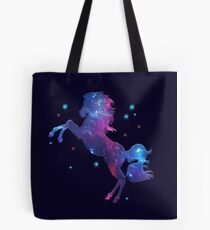 Space Horse, Universe, Kosmos, Galaxy, Star Tote Bag