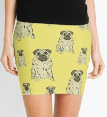 Mr Pug Mini Skirt