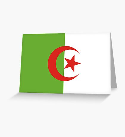 Algeria, national id Greeting Card