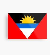 Antigua & Barbuda, national id Metal Print