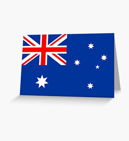 Australia, national id Greeting Card