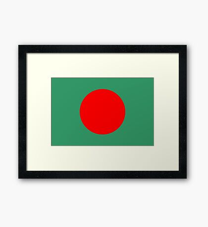 Bangladesh, national id Framed Print