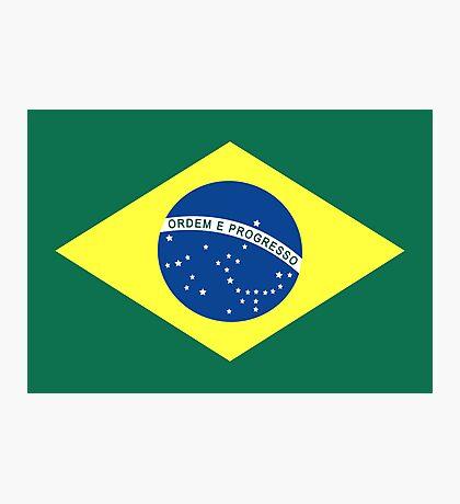 Brazil, national id Photographic Print